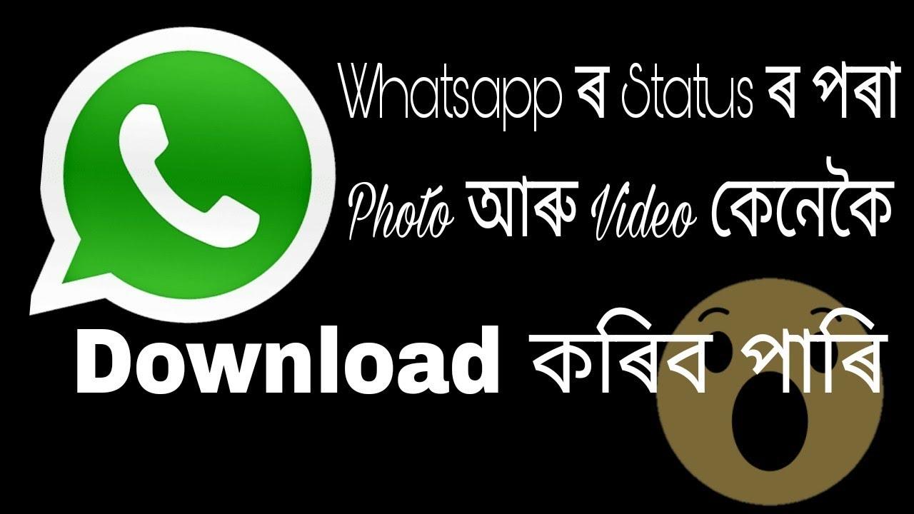 How To Download Whatsapp Status Photos Videos Whatsapp