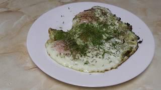 ЯИЧНИЦА С ЛУКОМ.Как приготовить яичницу с луком.