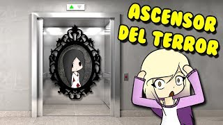 BLOODY MARY IN ELEVATOR OF THE FEAR ? Roblox Scary Elevator in Spanish