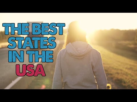 The 10 Best States to Live in America