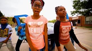 "SIXTH GRADERS SPIT POSITIVITY RAPS OVER TEE GRIZZLEY'S ""FIRST DAY O..."