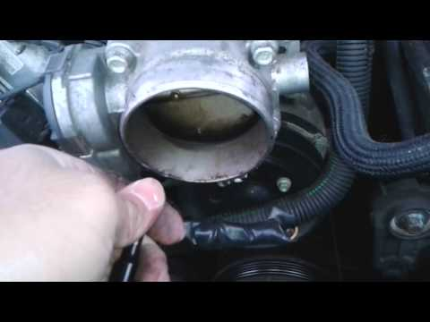 how to replace plenum gasket 03 07 cadillac cts funnycat tv. Black Bedroom Furniture Sets. Home Design Ideas