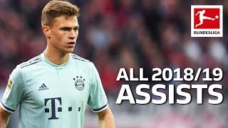 Joshua Kimmich - All Assists 2018/19