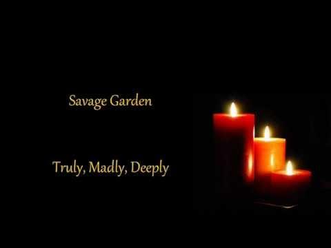 Savage Garden Truly Madly Deeply Lyrics Youtube