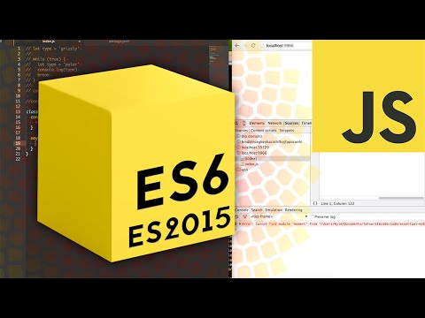 Essential ES6 / ES2015 JavaScript