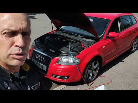 Diagnostic consultation and Engine Carbon Clean on an Audi A3 2.0 TDI (2008 - 181,001 miles)