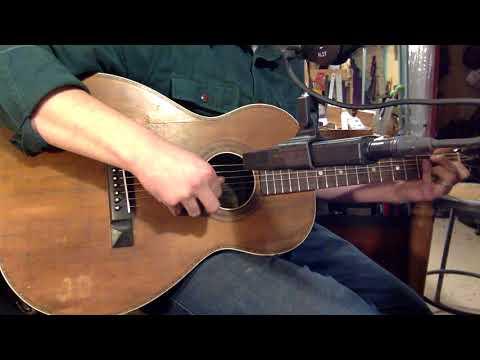 1920s Cerrito-made Beltone 000 12-fret Guitar