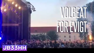 Volbeat - For Evigt (07.06.2016 - Zitadelle Berlin) live HD