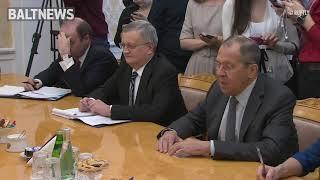 Смотреть видео Лавров: Москва намерена придать дополнительный импульс экономическому сотрудничеству с США онлайн