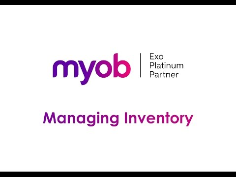 Managing Inventory