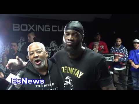 Deontay Wilder full interview EsNews Boxing