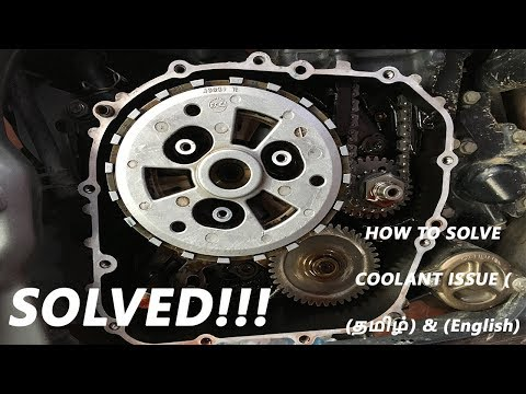 HOW I SOLVED COOLANT ISSUE | BAJAJ DOMINAR 400 | TAMIL & ENGLISH