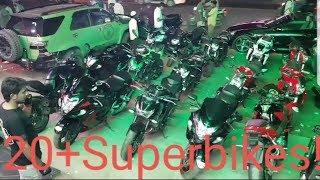 INSANE SUPERBIKE GATHERING IN HYDERABAD!