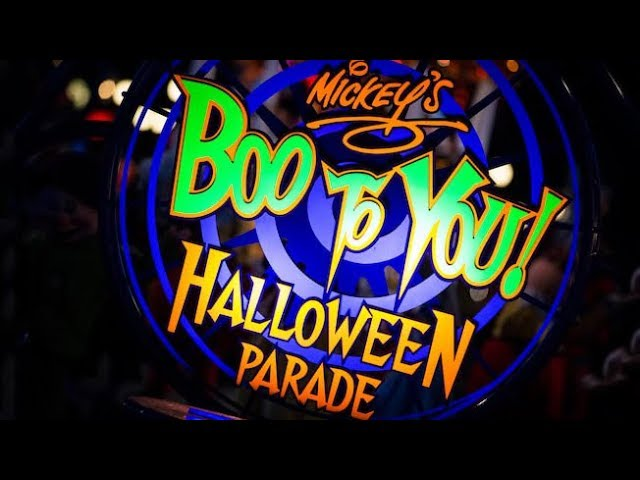 Mickey's Boo-To-You Halloween Parade 2018