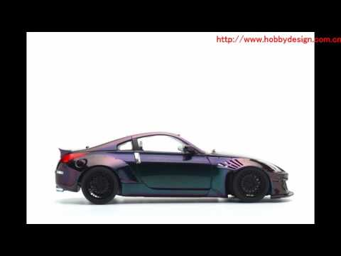 124 Rocket Bunny Nissan 350Z Finish Model Build By China Model Master