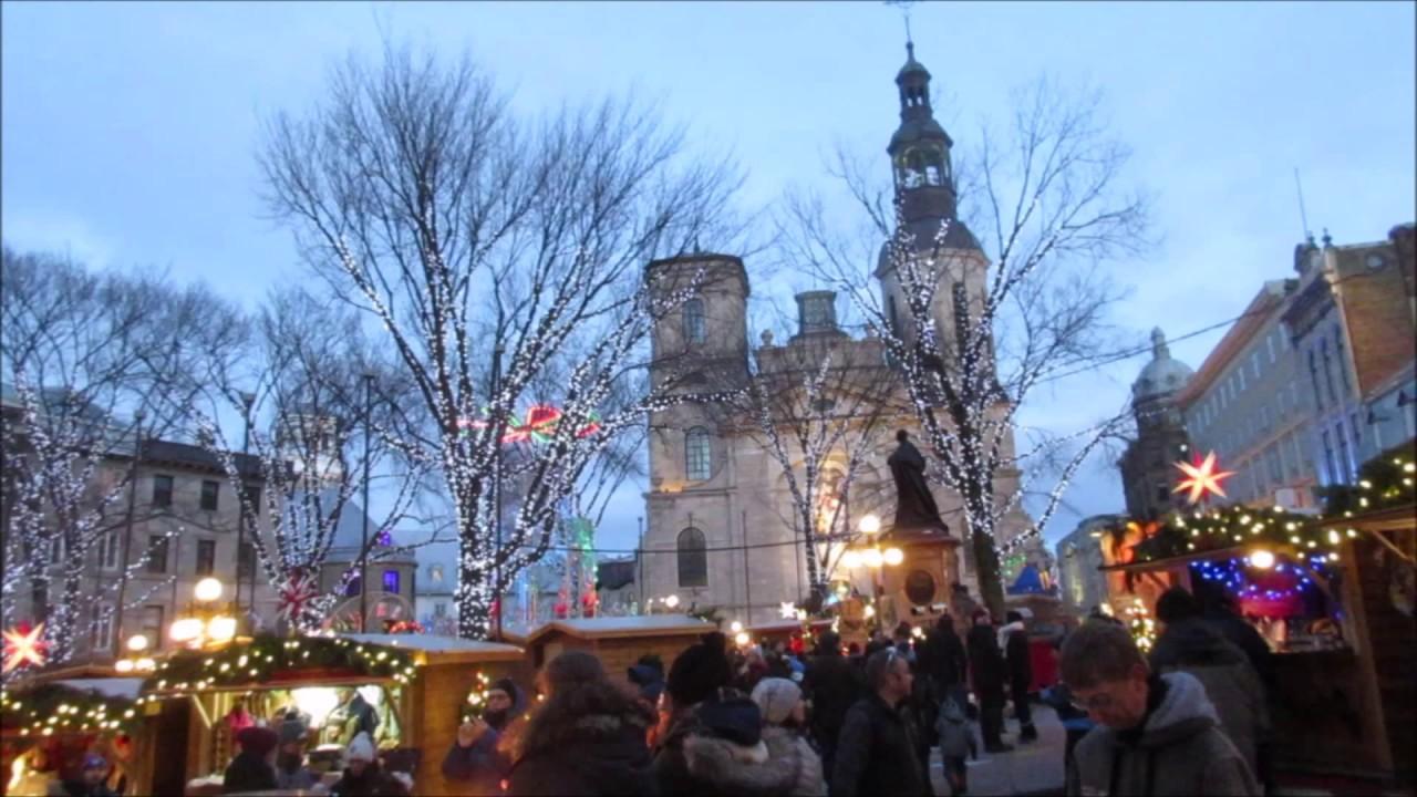 German Christmas Market. Québec City. 2017 - YouTube