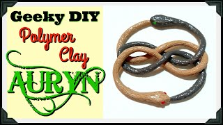POLYMER CLAY AURYN - NEVERENDING STORY - Geeky Girl DIY