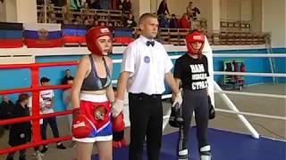 Гнатко Алеся и Мясникова Надежда кикбоксинг 03.11.2018г.