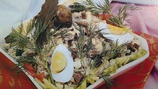 Салат с печенью Как Приготовить Салат с печенью