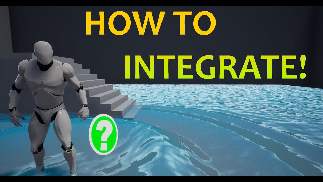 UE4 Free Dynamic Water V2 1 - how to integrate into your project [UE4 20]