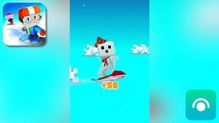 Blocky Snowboarding - Gameplay Trailer (iOS)