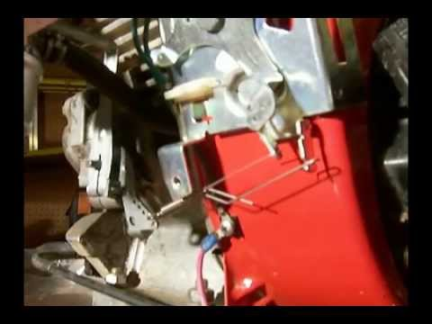 Tecumseh OHH50 - Governor, Carburetor and Control Arm Linkage - YouTube