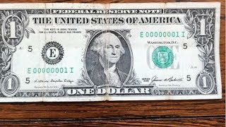 Why this $1 Bill is worth THOUSANDS!