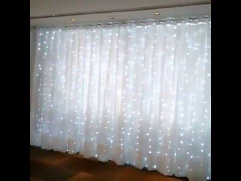 Cascata de luzes  YouTube