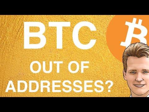 Bitcoin Running Out Of Addresses? Programmer Explains.