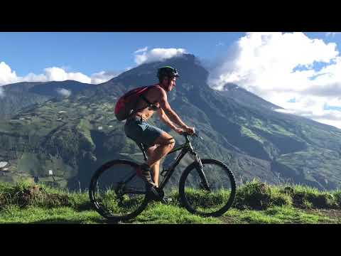 The Last Day in Banos, Ecuador: Mountain Bike Loop with Epic Views