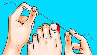6 نصائح رهيبة تجعل منظر قدميك رائعاً