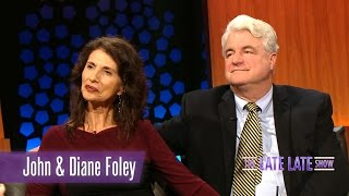 John and Diane Foley on their son, Jim Foley | The Late Late Show
