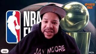 SPORTS TALK TUESDAY Gm1 NBA FINALS - Maria Taylor Vs Rachel Nichols - Who Will Win The Chip?