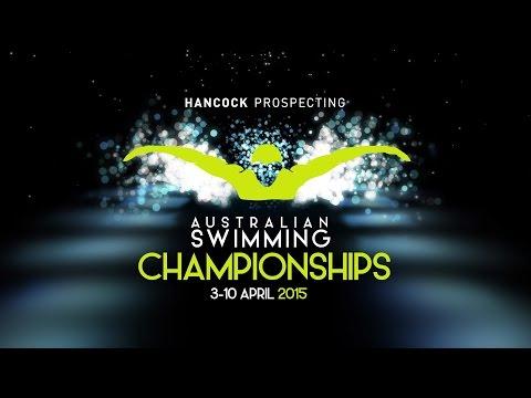 Hancock Prospecting 2015 Australian Swimming Championships - Day 7 Heats