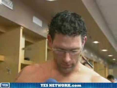 Kyle Farnsworth after the game, 4/24/08