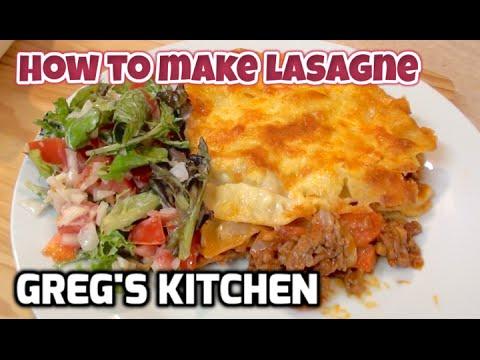 HOW TO MAKE LASAGNA - Easy Fun Recipe  - Greg's Kitchen