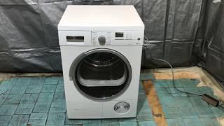 Компрессорная сушильная машина Siemens IQ700, WT46W562, A+ ( Обзор сушильной машини перед продажей)