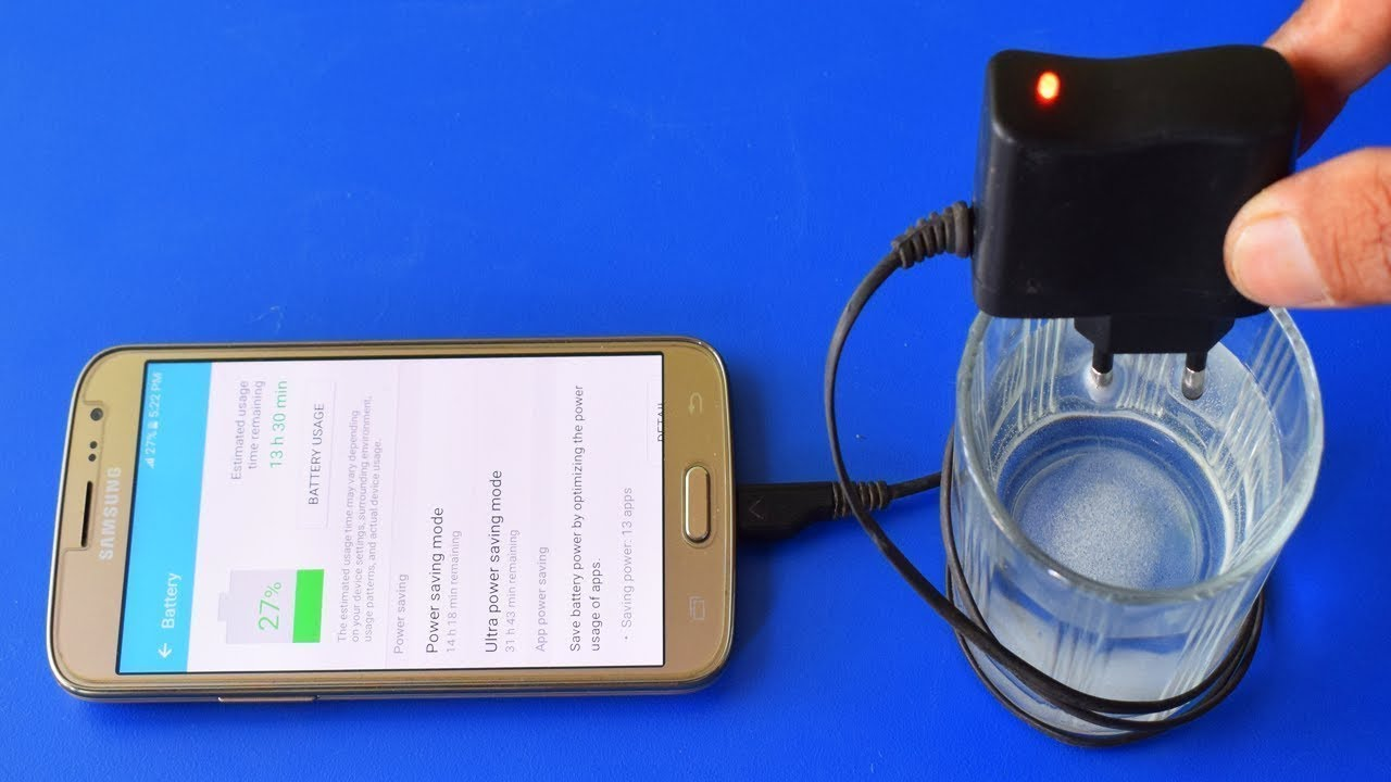 Charge Mobile Phone With Salt Water Free Energy Charger Ideas Factory