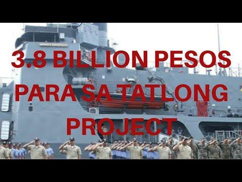 WOW!! MAHIGIT 3.8 BILLION PESOS PARA SA TATLONG PROJECT NG AFP
