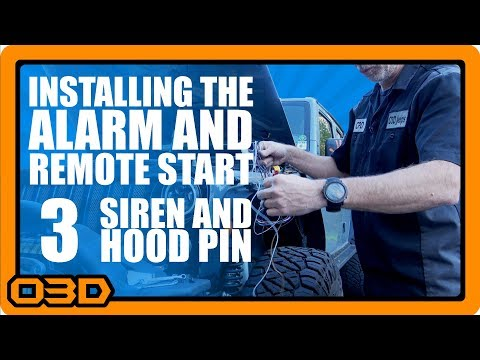 03 - Alarm and Remote Start Install - Hood Pin Switch and ... Xpress Remote Start Wiring Diagram on