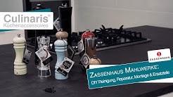 Culinaris zeigt: Zassenhaus Mahlwerke: DIY Reinigung, Reparatur, Montage & Ersatzteile