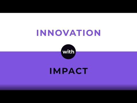 Innovation With Impact