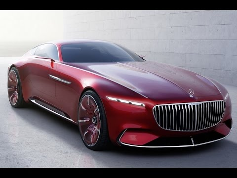 New 2017 vision mercedes maybach 6 coupe mercedes benz for 2017 maybach s 550 mercedes benz