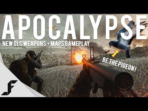 APOCALYPSE DLC GAMEPLAY - Battlefield 1 New Maps + Weps + Pigeon!