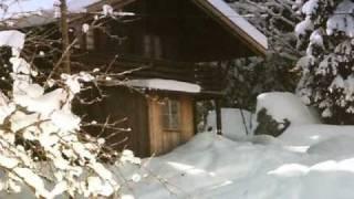 "JODLER -  ""DIE SCHWARZEN HÜTTEN SCHWEIGEN""  Winter in den Bergen"