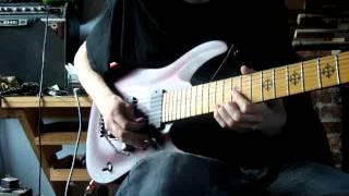 Jeff Loomis - Sacristy (guitar cover)