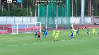 FK Trakai - Cefn Druids 1-0 (penalty) Goal