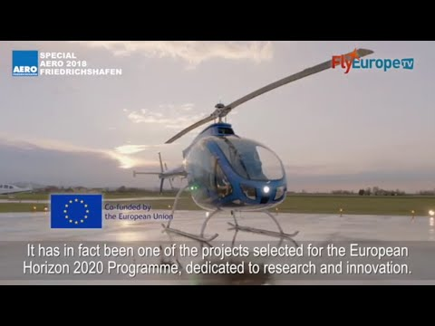 AERO 2018 - The new Zefhir Helicopter by Curti