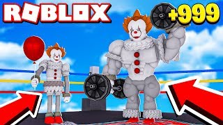IT PAYASO BECOMES ROBLOX'S STRONGEST!!