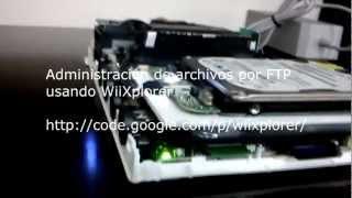 Hack Nintendo Wii - Internal SATA HDD